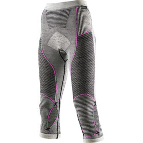 X-Bionic Apani Merino By Fastflow UW Medium Pants Women Black/Grey/Pink